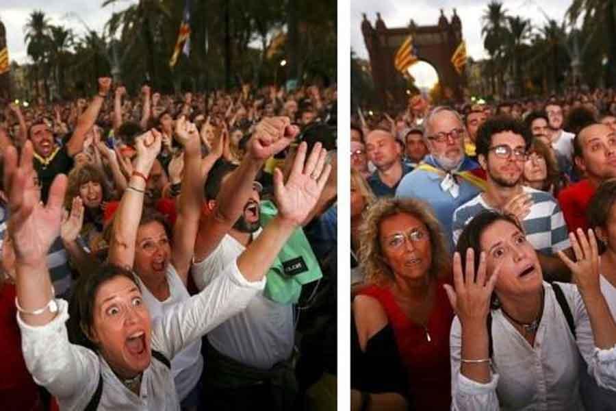 Katalonya'nın bağımsızlık ilanı ertelendi