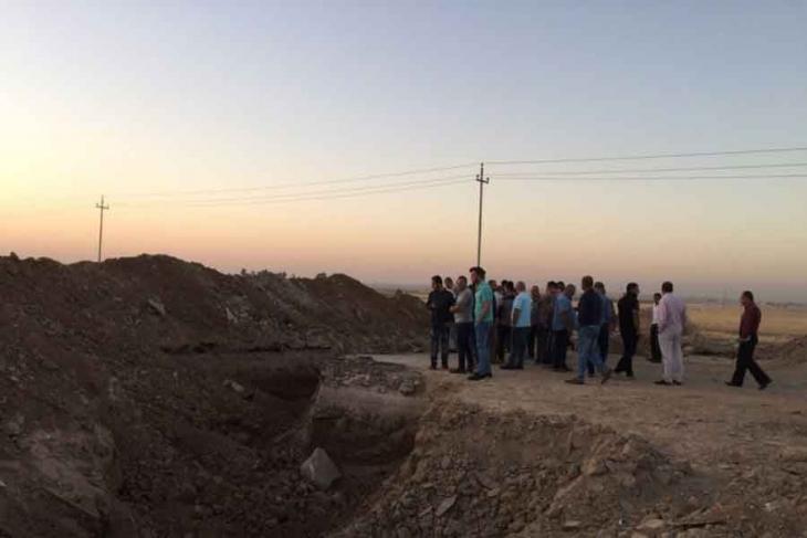 Peşmerge Musul'a çıkan yolları kapattı