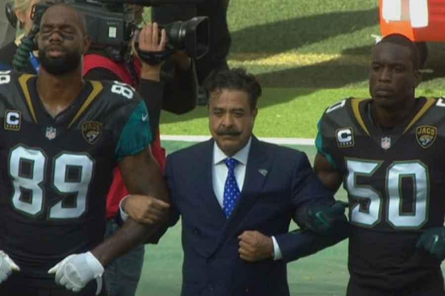 Jaguars'ın sahibi Shahid Khan