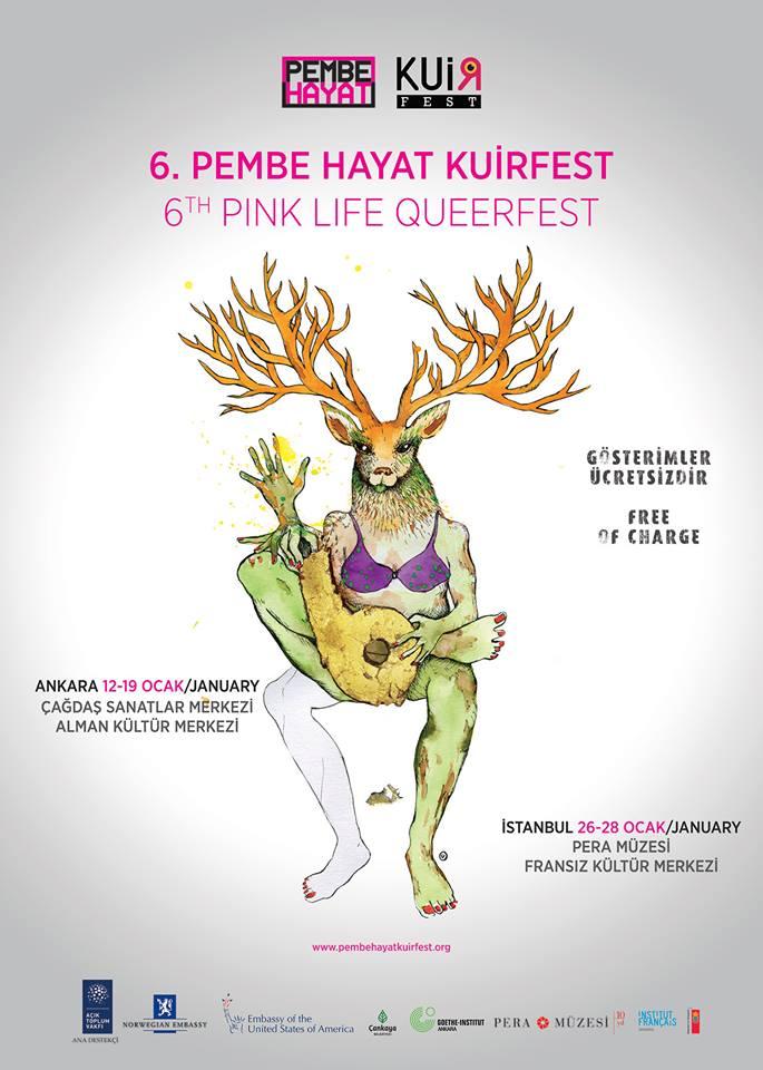 Festivalin bu yılki afişi de çok özel bir ismin; ünlü senarist, yazar ve yönetmen Ümit Ünal'ın imzasını taşıyor.