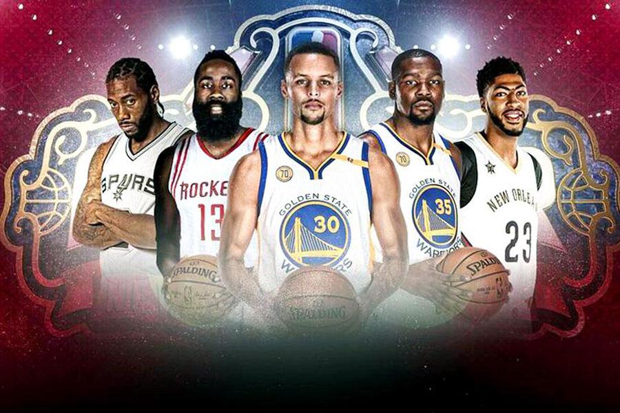 Batı Karması: Leonard, Harden, Curry, Durant, Davis
