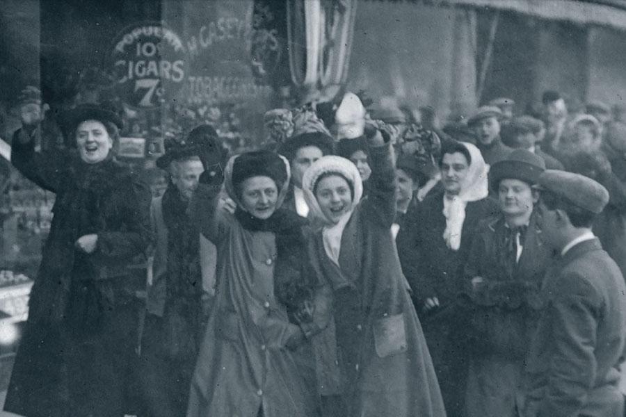 1912 Ekmek ve Gül grevi
