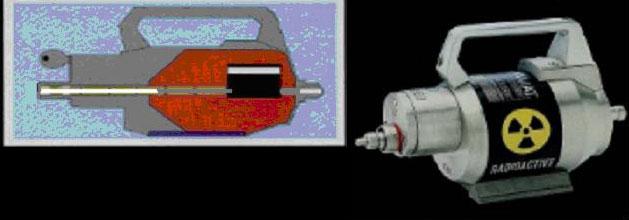 Firma yetkilisinden alınan bilgiye göre radyoaktif çalışmada kullanılan cihaz GAMMAMAT marka TI-FF model düz tüp kaynak muhafazalı kablo tahrikli bir radyografi cihazıdır.