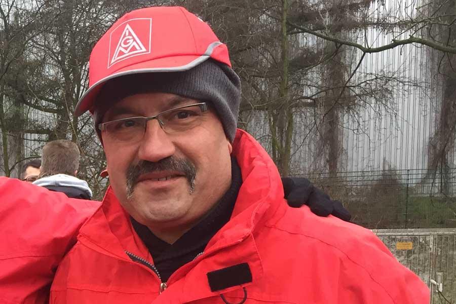 Almanya metal işçisi