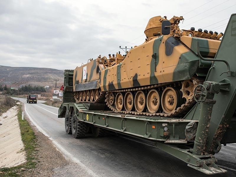 Afrin'e yönelik askeri operasyon
