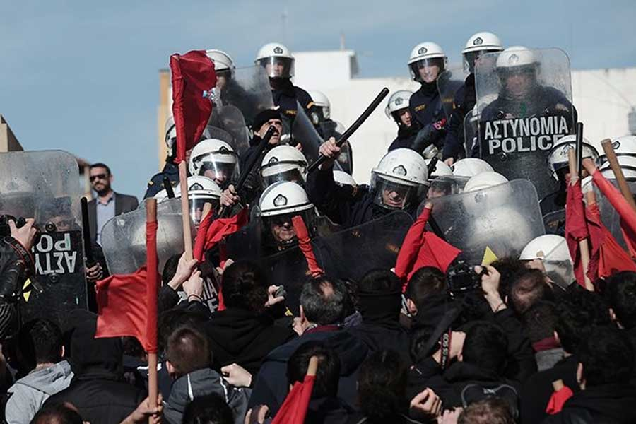 Yunanistan grev