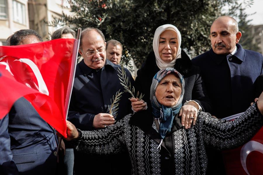 Başbakan Yardımcısı Recep Akdağ Kilis'te.