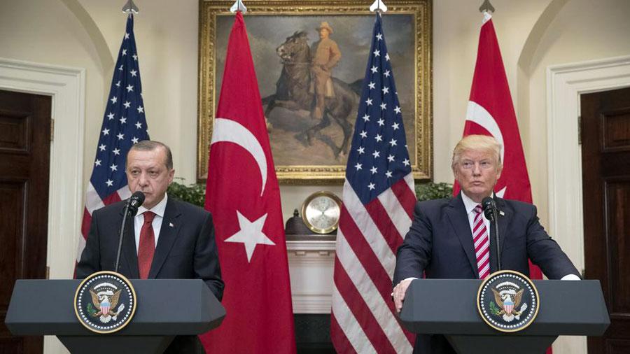 recep tayyip erdoğan ve donald trump