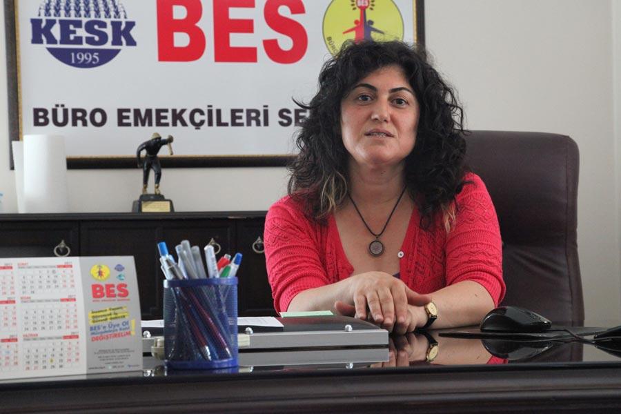 BES Genel Başkanı Serpil Akpınar