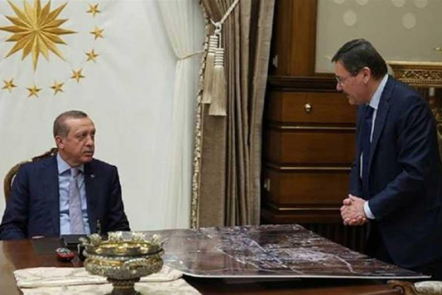 Erdoğan: Şu an böyle bir şey yok ama olmayacağı anlamına gelmez