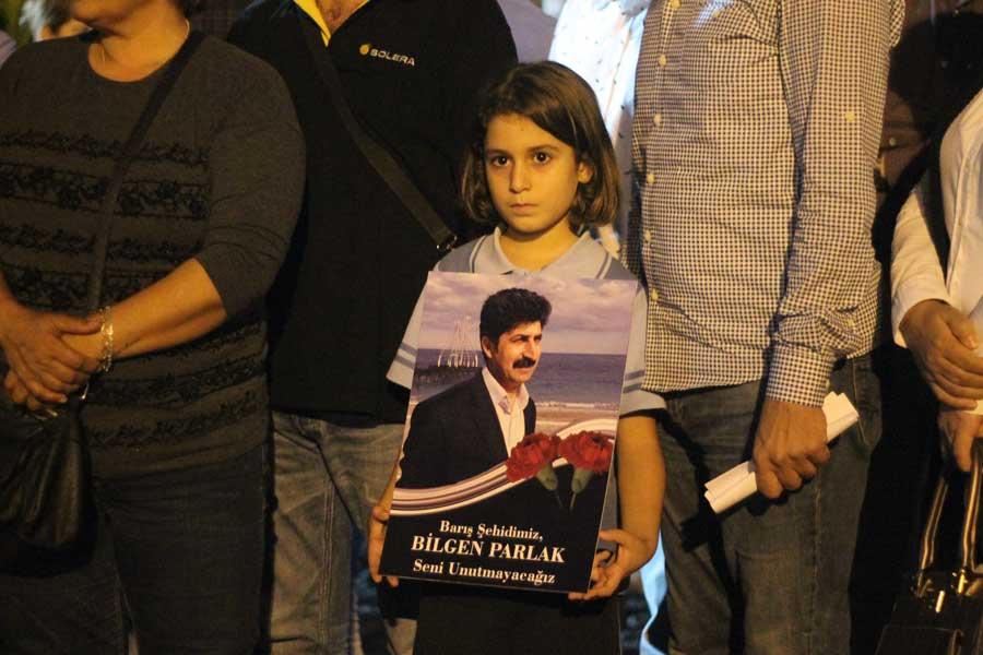 Katliamda yaşamını yitiren Bilgen Parlak'ın kızı
