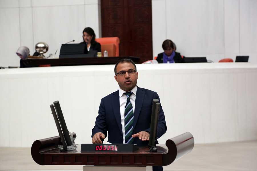 HDP Mardin Milletvekili Ali Atalan