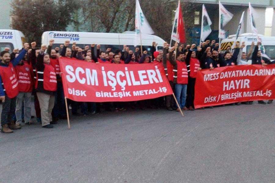 Bursa SCM işçileri