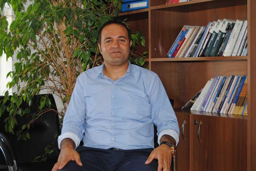 İnsan Hakları Derneği (İHD) Van Şube Başkanı Murat Melet