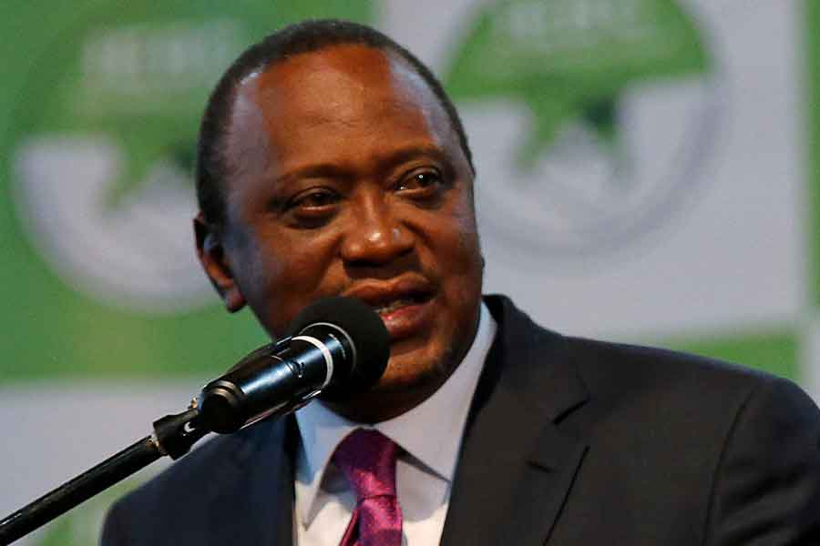 Kenyatta'nın oyların yüzde 54'ünü aldığı açıklanmıştı