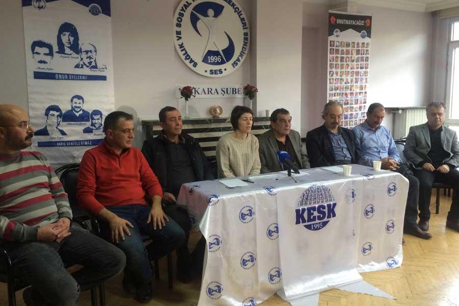 KESK Eş Genel Başkanı Aysun Gezer