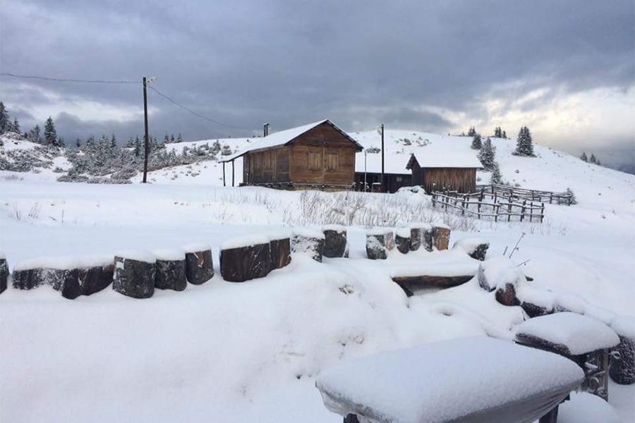 Trabzon'da kar