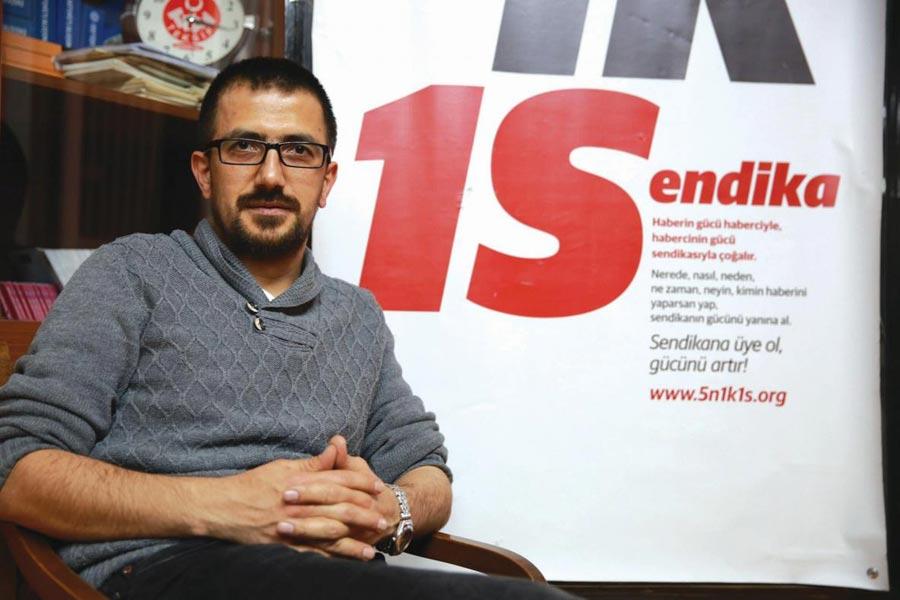 Türkiye Gazeteciler Sendikası (TGS) Genel Başkanı Gökhan Durmuş,