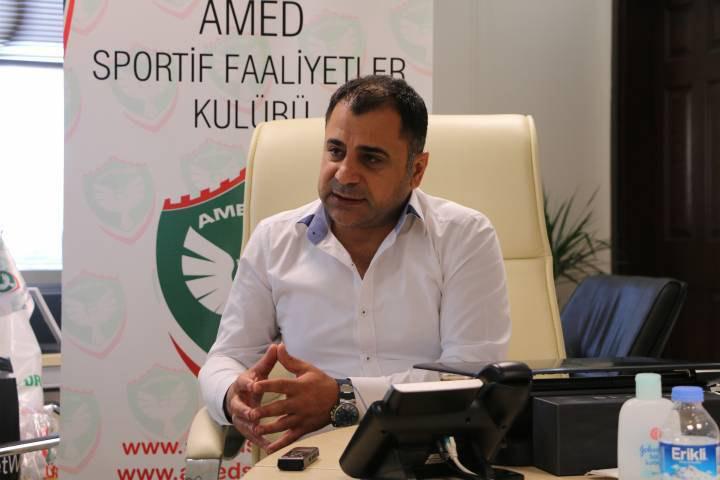 Amedspor Eşbaşkanı Nurullah Edemen