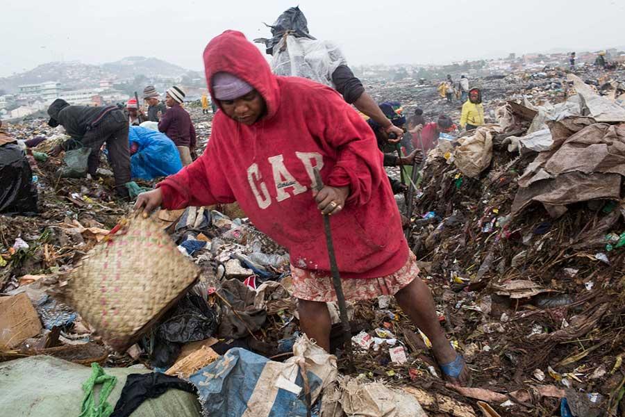 Afrikanın çöplükleri