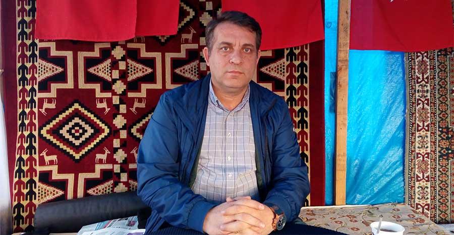 Petrol-İş Trakya Şube Başkanı Ercan Yavuz