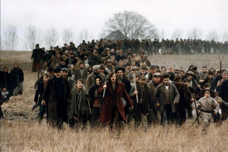 Germinal filmindeki sahnelerden bir kare