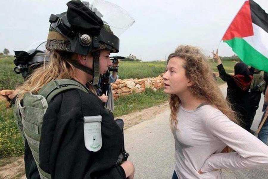 Filistin'in cesur kızı