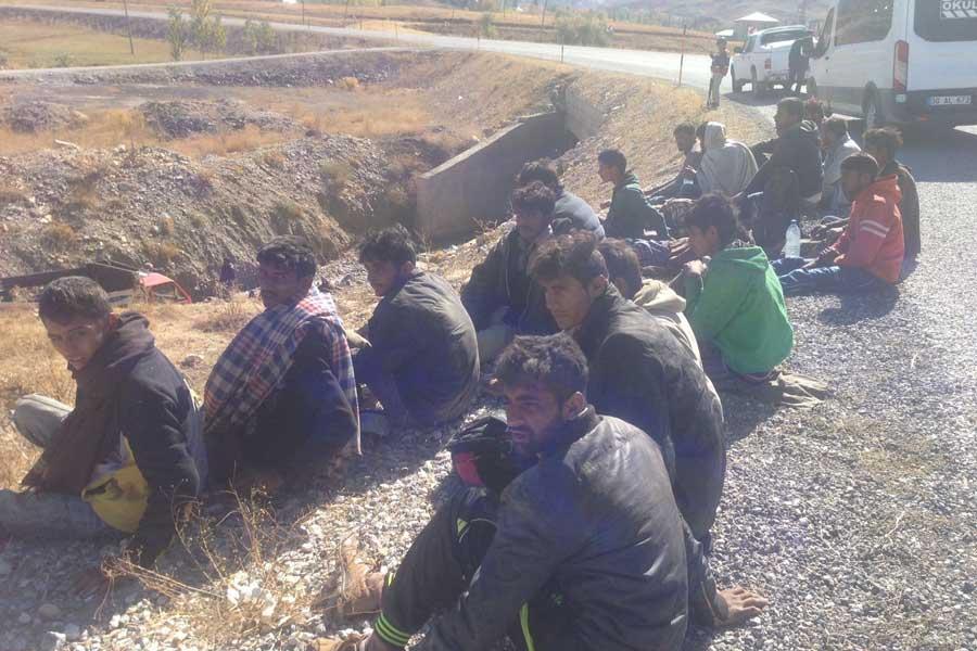 Hakkari mülteci