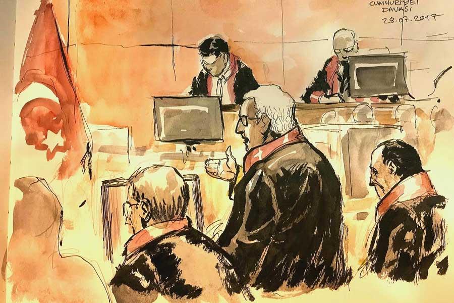 Çizer Yıldıray Çınar'ın gözünden Avukat Köksal Bayraktar