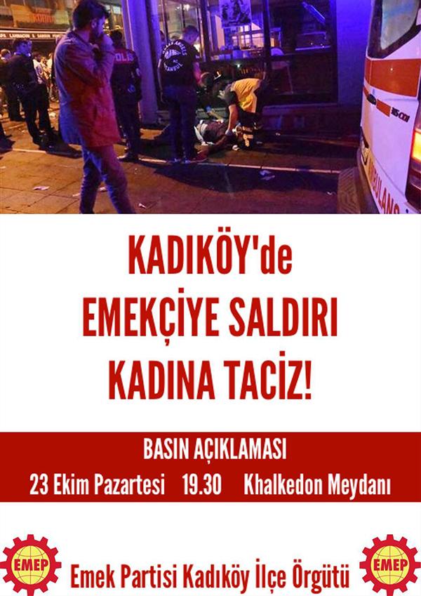 Emek Partisi saldırıyı protesto edecek