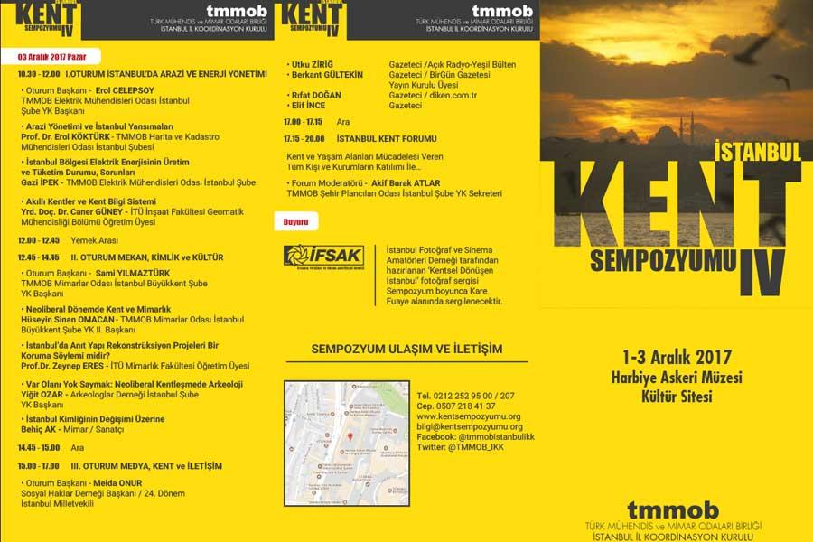 TMMOB 4.İstanbul Kent Sempozyumu