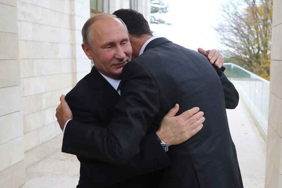 Esad-Putin görüşmesi