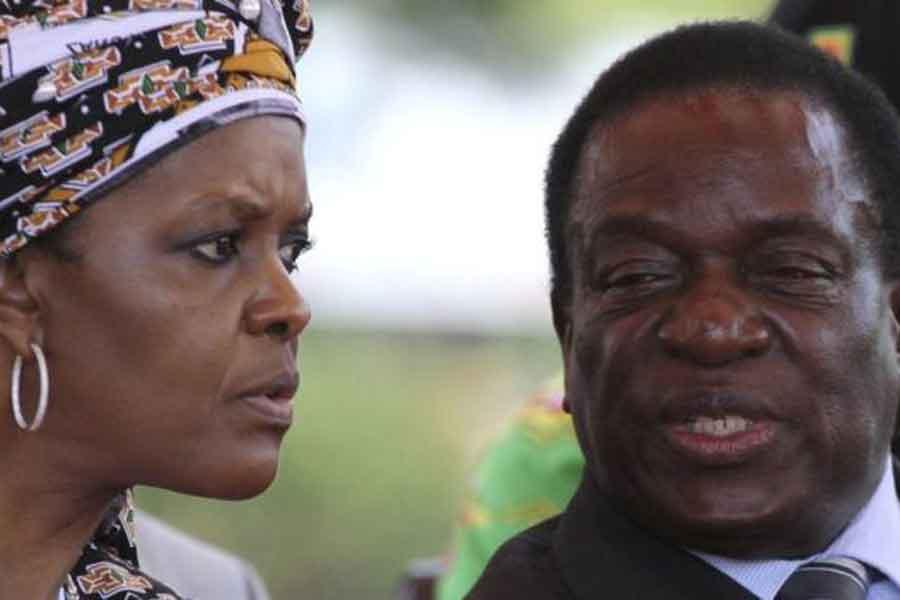Grace Mugabe ve Emmerson Mnangagwa