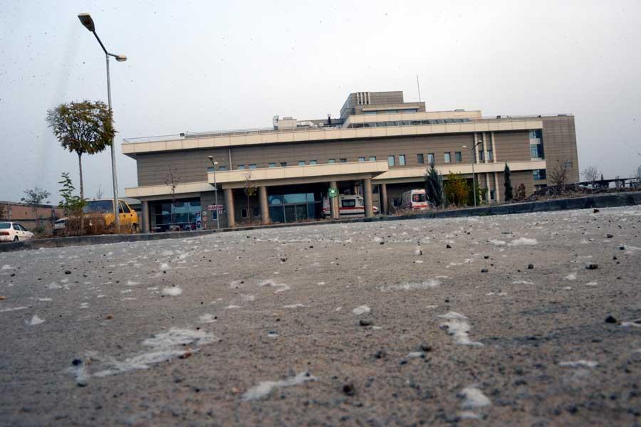 Bismil Devlet hastanesi (DHA)