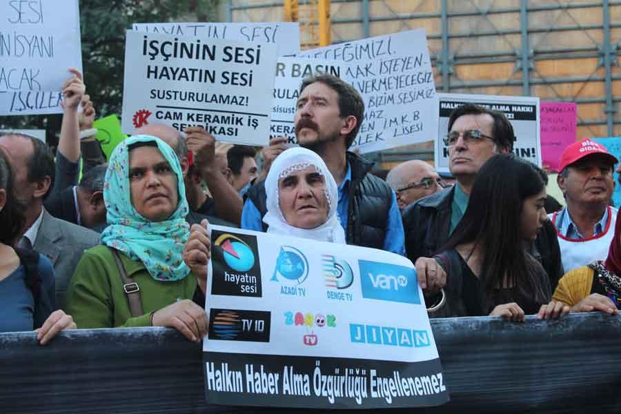 Galatasaray eylemi