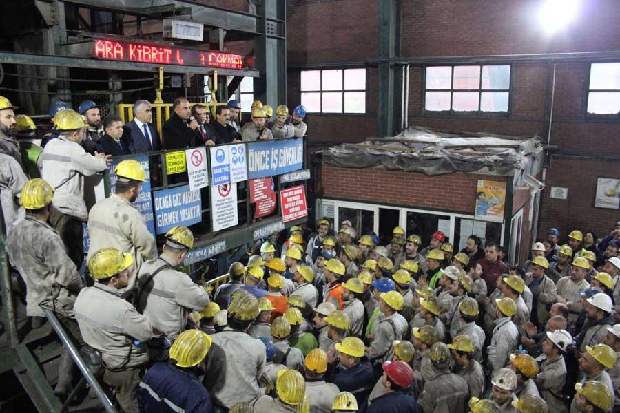 Karadon maden işçileri