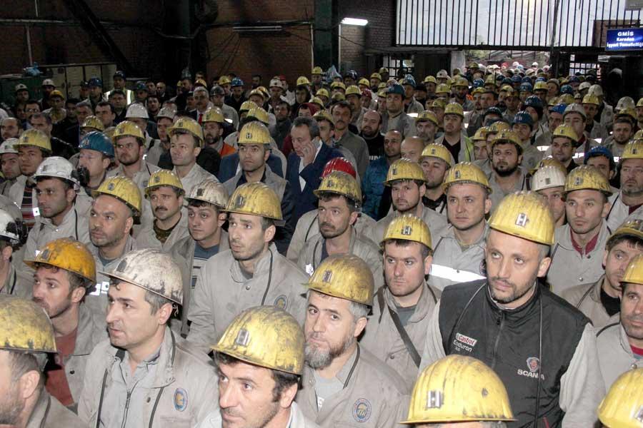 Karadon madenci işçileri