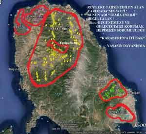 RES haritası