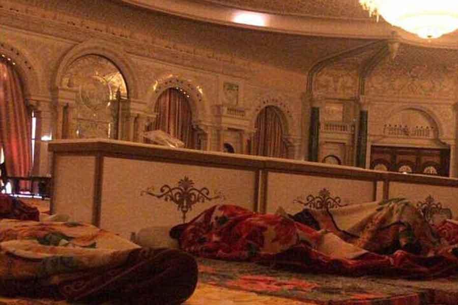 Ritz Carlton'da gözaltında tutulan prensler
