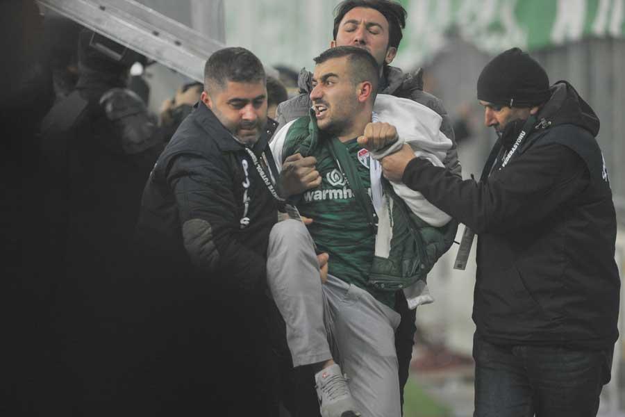 Bursaspor-Fenerbahçe maçı (DHA)
