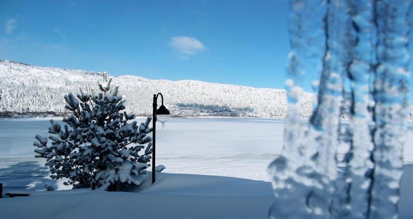 Göller, nehirler buz tutu