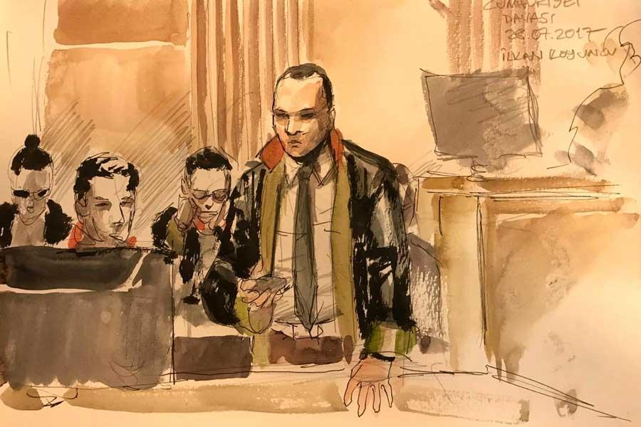 Avukat İlkan Koyuncu - Çizer: Yıldıray Çınar