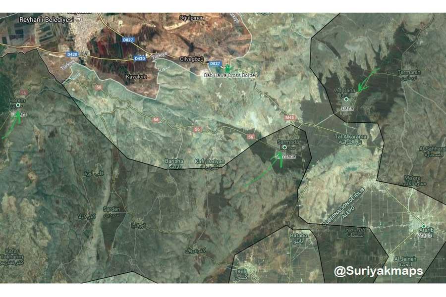 HTŞ, İdlib'in kuzeyinde 4 noktayı ele geçirdi