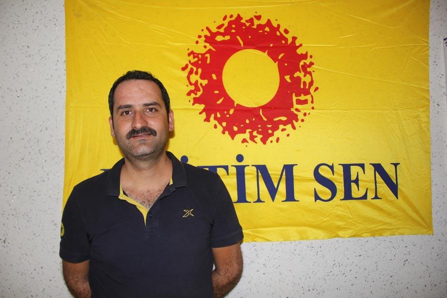 Diyarbakır Eğitim Sen 1 No'lu Şube Örgütlenme Sekreteri Zülküf Güneş