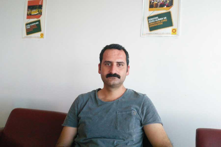 Eğitim-Sen Diyarbakır 1 Nolu Şube Örgütlenme Sekreteri Zülküf Güneş