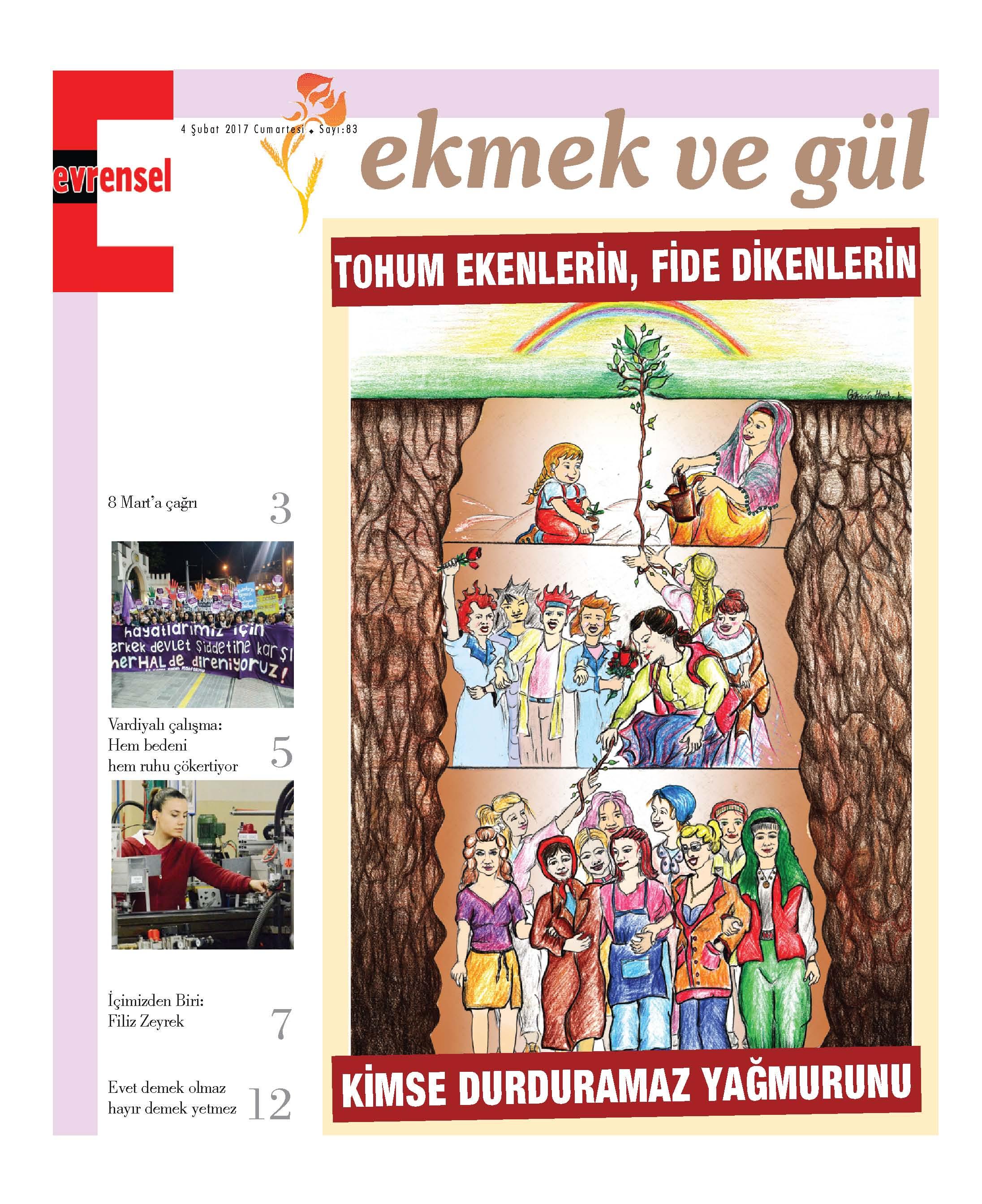 EKMEK VE GÜL -> ŞUBAT 2017