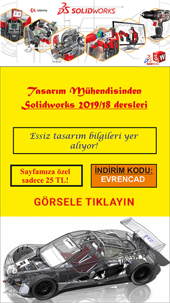 Udemy Eğitim - Solidworks