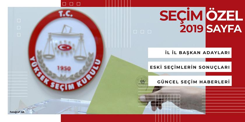 Yerel Seçim 2019 İl il adaylar ve seçim sonuçları