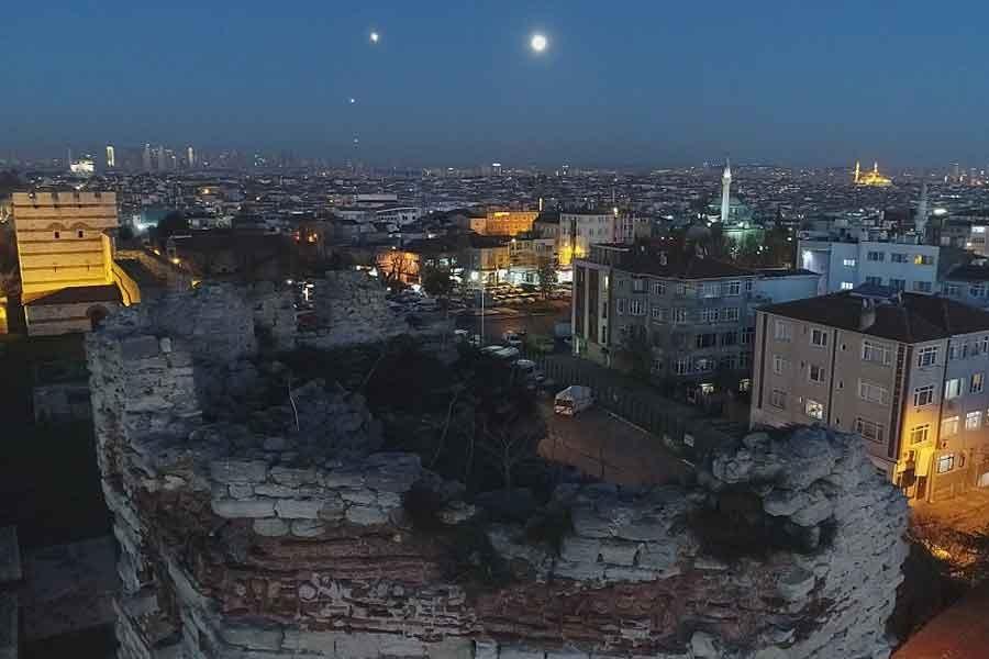 'Süper Ay' İstanbul semalarında