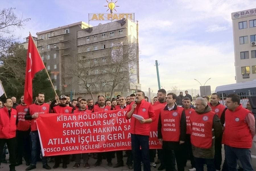 'AKP'li vekiller ve bürokratlar Posco işçilerini aldattı!'